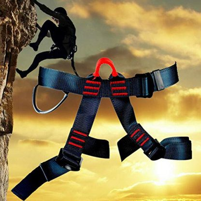 Rock Climbing Harness with Lanyard 5