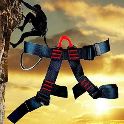 Rock Climbing Harness with Lanyard 5