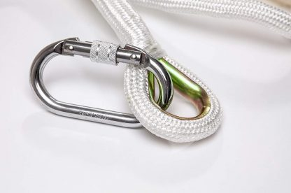 Heavy Duty Climbing Carabiners | Pack of 2 Spring Hooks 3