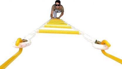 Notfall-Feuerleiter 7.5 m (25 Fuß 3 Stockwerke) Sicherheitsleitern 6