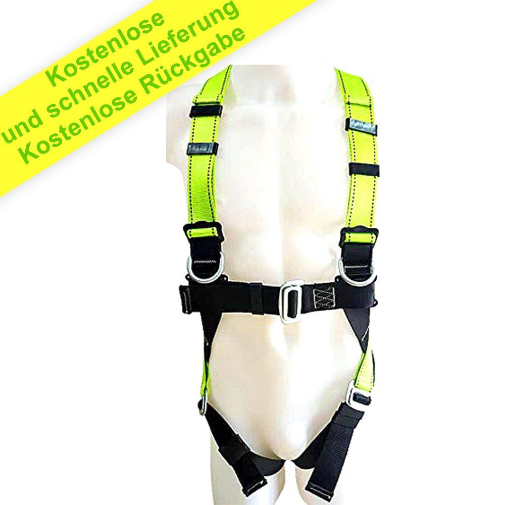 Baumklettern, Outdoor-Aktivitäten, Training - Langlebiges Material in Premium-Qualität - Verstellbarer D-Ring zum Zurückschieben - Schlitzschnallen
