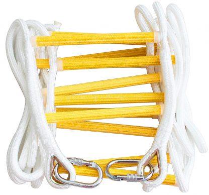 ISOP Escalera de Cuerda de 2,5 m para trepar a la casa del árbol 1