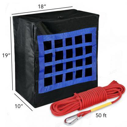 Dispositivo de Evacuación de Incendios Para Niños o Mascotas de Hasta 35 kg 2