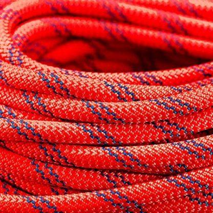 ISOP Cuerda de escalada interior exterior 23m 8mm con mosquetones 10