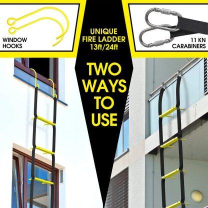 Escaleras de escape de incendios 4 m 4