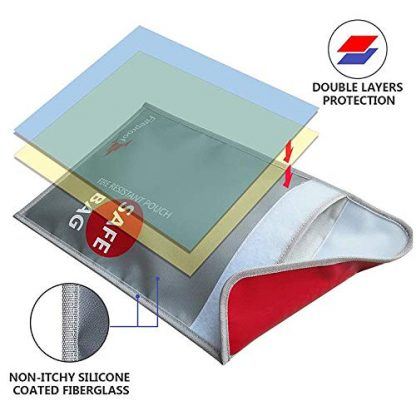 ISOP Coffre-fort ignifuge | porte-documents 38 x 28 cm 2
