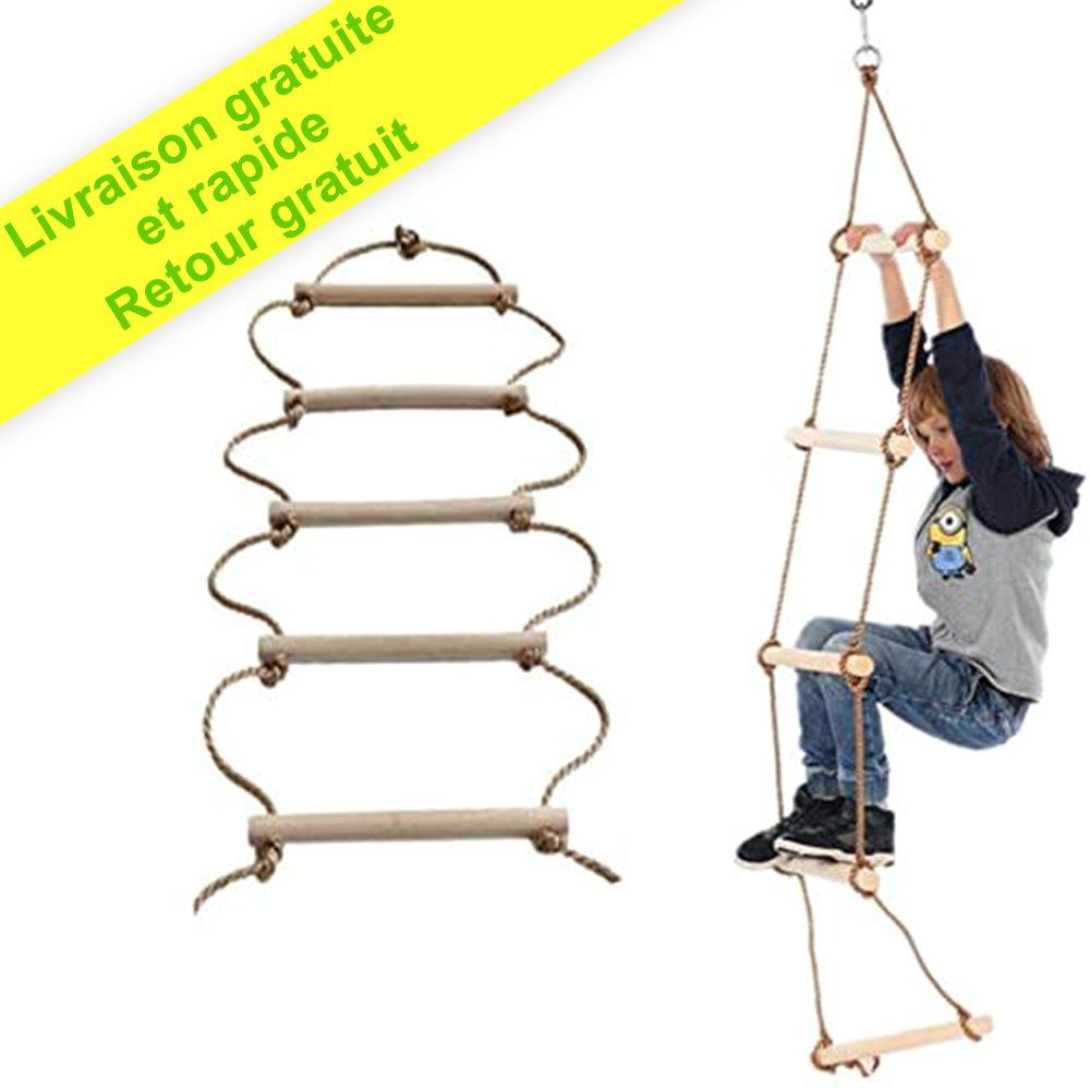ISOP Échelle de corde pour balançoire 3 m