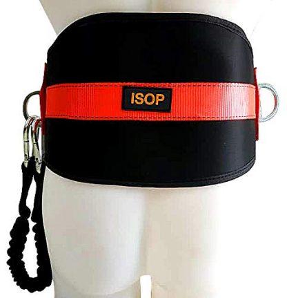 ISOP Cintura di Sicurezza con Cordino e Gancio 2