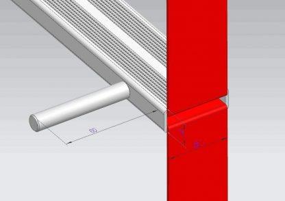ISOP Brandtrapladders 4 m 5