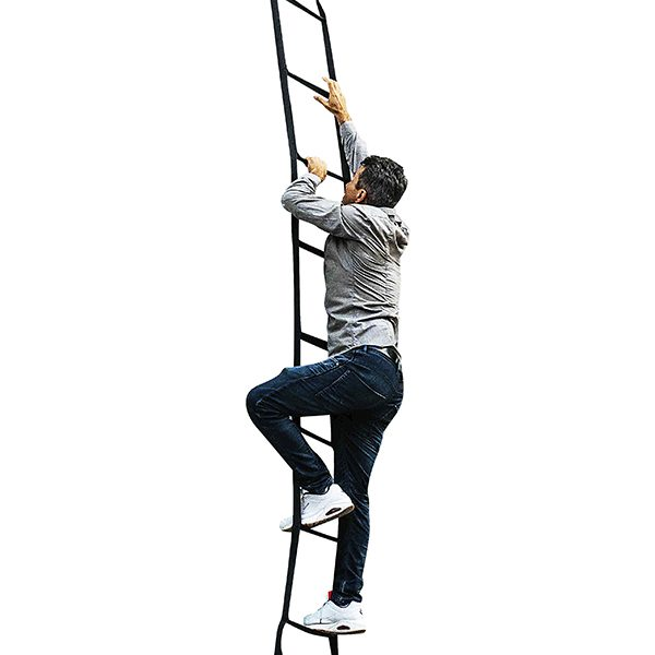 nylon ladder climb