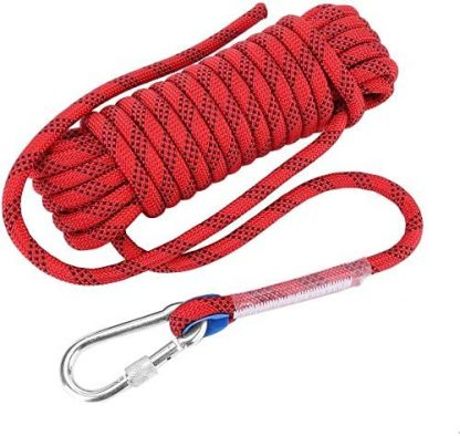 ISOP Climbing Rope 50ft (15m) 8mm for Outdoor Activity - Swing-set Accessories - Tree Climbing Sturdy Rope 3
