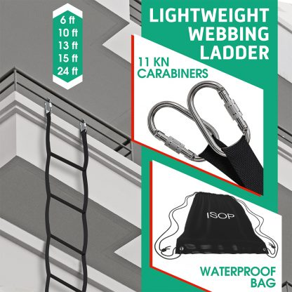 Rope Ladder for Kids 2 m | Made in EU 5