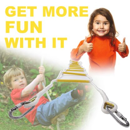 Rope Ladder for Homes 15 ft / 5 m 3