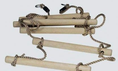 Tree Climbing Rope Ladder for Kids 16ft (5m) or Adults 4