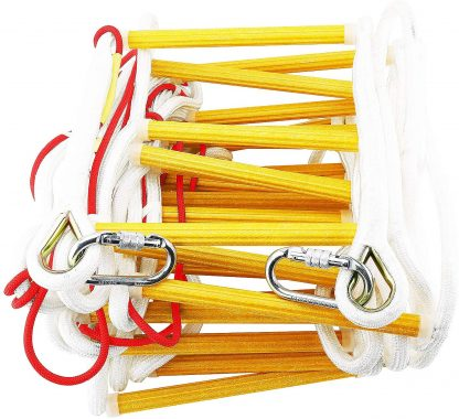 Fire Evacuation Rope Ladder 3-4 Story Homes 10m with Safety Cord 5