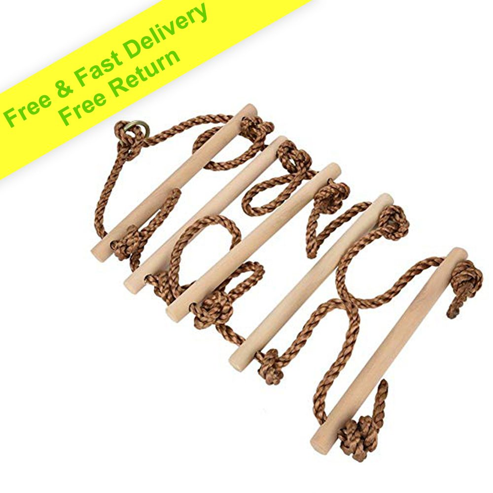Outdoor Accessories - Climbing Rope Ladder for Kids 6ft (2m)
