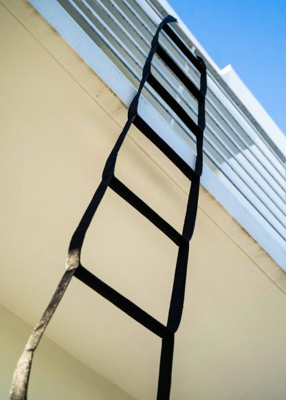 Fire Escape Ladder for 2 Story 13 ft (4m) Made in USA 3