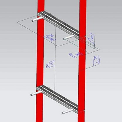 ISOP Fire Escape Ladders 13ft 6