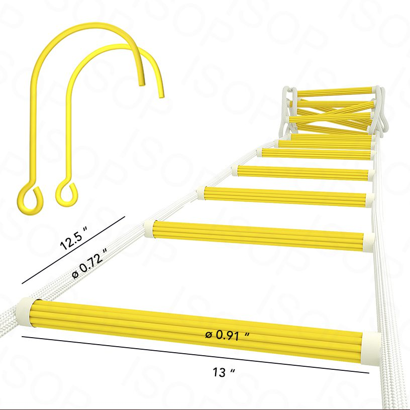 Rope Ladders for Fire Escape for up to 5th Story, Personal Protective Equipment 9