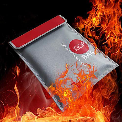 Fire Document Pouch