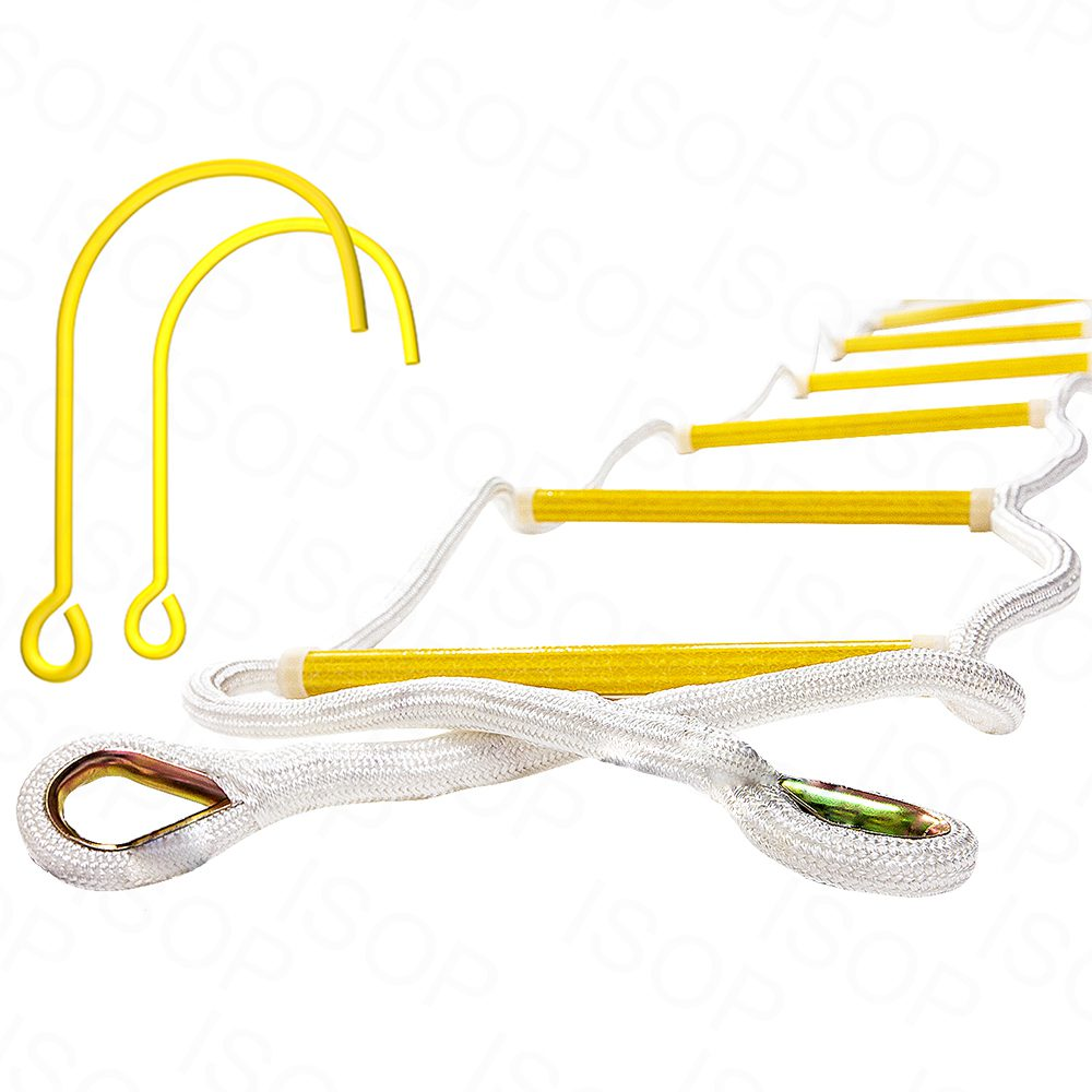 Rope Ladders for Fire Escape for up to 5th Story, Personal Protective Equipment 8